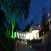 Vista nocturna Centro de Servicios